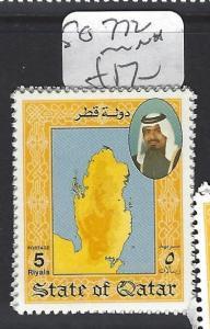 QATAR  (PP1906B)   5 R    SG 772       MNH