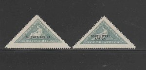 SOUTH WEST AFRICA #83a_b  1927  HOPE    MINT VF NH O.G