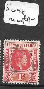 LEEWARD  ISLANDS  (PP0710B) KGVI 1D  SG 98  MOG