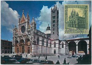 30201 -  San Marino - POSTAL HISTORY - MAXIMUM CARD  Architecture 1967 Cathedral