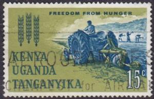 Kenya Uganda and Tanganyika 1963 SG199 Used