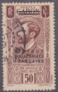 French Equatorial Africa Sc #7 Used