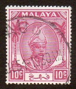 Malaya, Pahang  Scott  56   Used