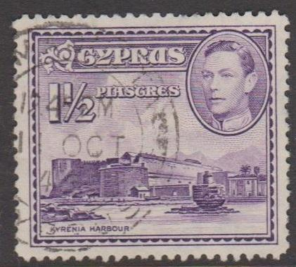 Cyprus Sc#147A Used