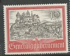Poland (General Government)    Scott # N73 - MH