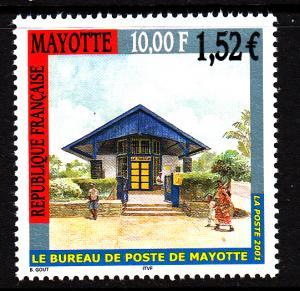 Mayotte MNH Scott #157 10fr Mayotte Post Office