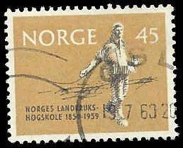 Norway - 378 - Used - SCV-0.60