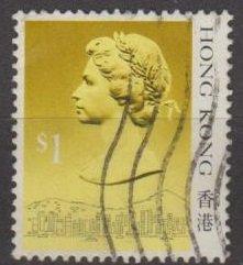 Hong Kong 1987 QEII Definitive $1.0 Single Stamp Fine Used