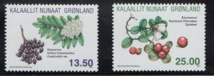 Greenland Sc 582-83 2011 Herbs stamp set mint NH