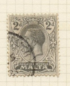 Malta 1921-22 Early Issue Fine Used 2d. 321548