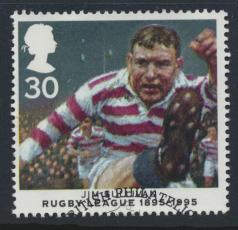 Great Britain  SG 1893 SC# 1631 Used / FU with First Day Cancel - Rugby League