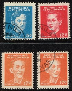 Philippines Stamp  #N32-34  1944 OCCUPATION  USED STAMPS SET