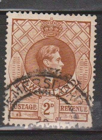SWAZILAND Scott # 30 Used - KGVI & Shields