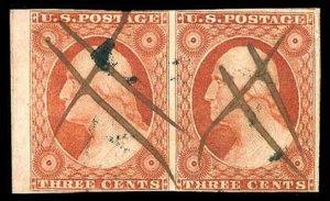 U.S. 1851-57 ISSUE 10  Used (ID # 84182)