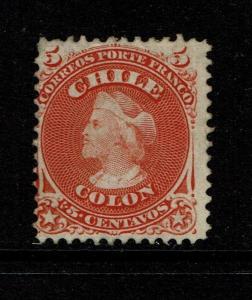 Chile SC# 17 - Mint No Gum / Hinge Rem - Lot 090317