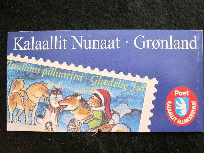 GREENLAND - SCOTT# 328a - COMPLETE BOOKLET - CAT VAL $28.00