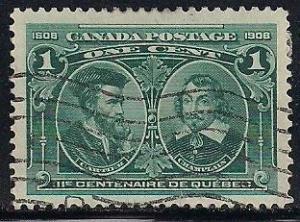 Canada 97 Used - Jacques Cartier & Samuel de Champlain