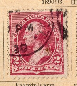United States 1890-93 Early Issue Fine Used 2c. NW-11583