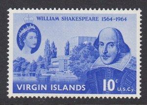 Virgin Islands 143 Shakespeare mnh