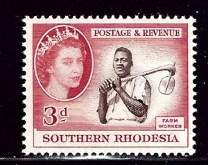 Southern Rhodesia 84 VLH 1953 issue    (ap2616)