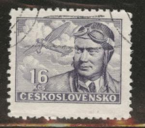 Czechoslovakia Scott C23 used airmail stamp CTO