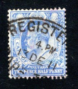 Cape of Good Hope Scott 66, VF, Used, Registered Postmark, CV $13.00 ....1190084