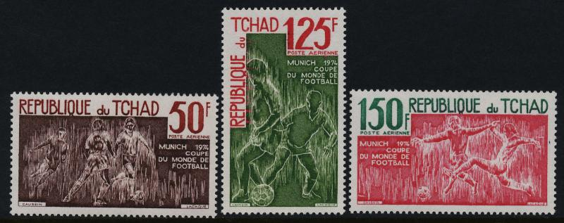 Chad C157-9 MNH World Cup Soccer