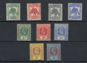 Gilbert & Ellice Islands QV/KGV Collection To 2/- SG8/21 J6773