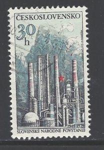 Czechoslovakia Sc # 2249 used (DDT)
