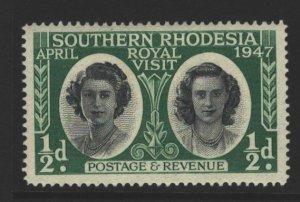 Southern Rhodesia Sc#65 MVLH