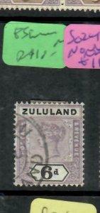 ZULULAND  (PP2305B)  QV  6D  SG 24      VFU