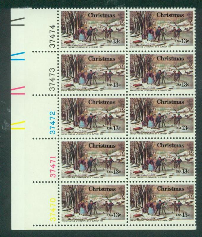 U.S. Scott 1702 VF MNH Plate Block of 10