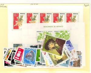 Monaco Scott 1270-1315,1279a NH    [ID#431208]