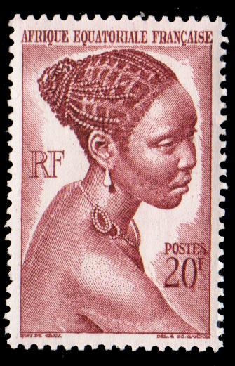 French Equatorial Africa Scott 183