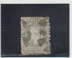 St. Helena  Scott#  5  Used  (1879 Queen Victoria)