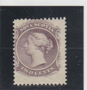 Nova Scotia  Scott#  9  MH  (1860 Queen Victoria)