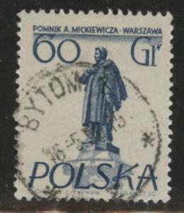 Poland Scott 674 Used
