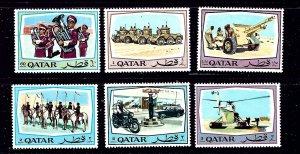 Qatar 172-77 MH 1969 Military