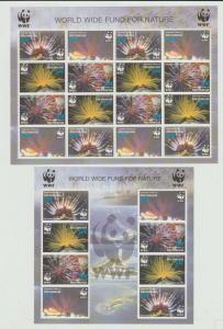 MICRONESIA  2005  WWF 2 Sheets