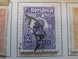 Rumänien Roumanie Romania 1920-26 30b fine used stamp A13P32F127