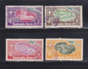 Guatemala C177-C180 Set U National Hospital Fund (B)