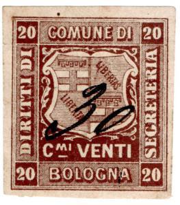 (I.B) Italy Revenue : Diritti di Segretaria 20L (Bologna)