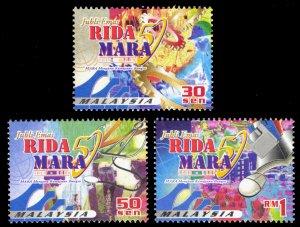 Malaysia 2000 Scott #810-812 Mint Never Hinged