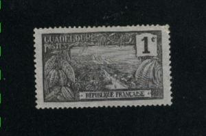 Guadeloupe #54 used  PD