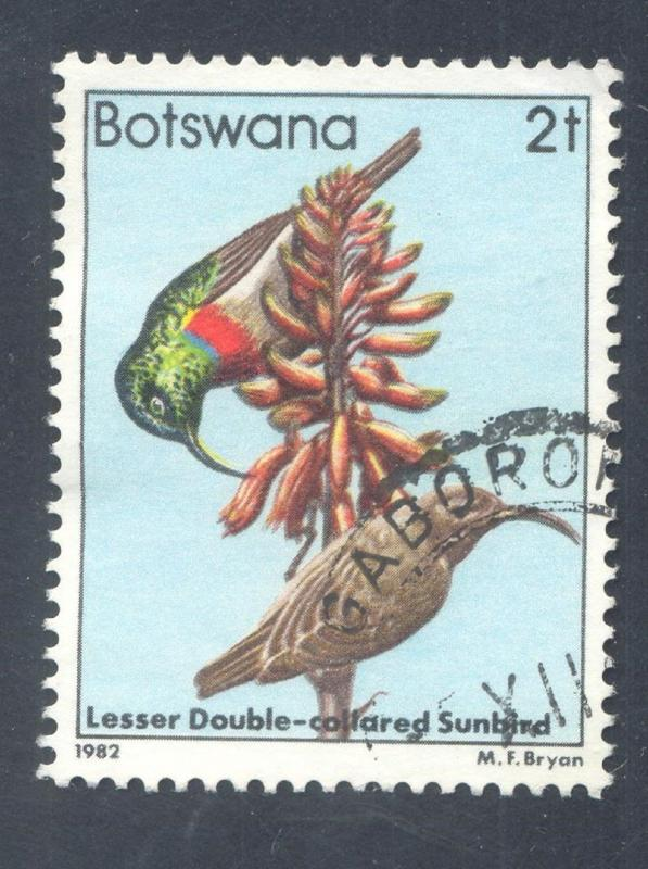 Birds: Lesser double-collared Sunbird, 1982 Botswana, Scott #304