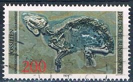 Germany 1276 Used Fossil remains 1978 (MV0288)