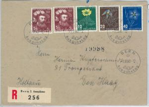 62433 -  SWITZERLAND - POSTAL HISTORY: FDC COVER to HOLLAND 1949 - PRO JUVENTUTE
