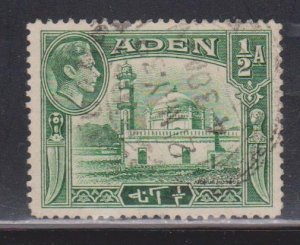 ADEN Scott # 16 Used - KGVI & Mosque