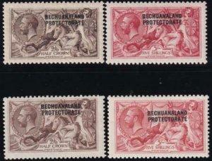 Bechuanaland 1915-1923 SC 92-95 VF LH