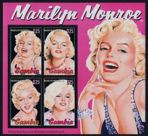 Gambia 2846 MNH Marilyn Monroe